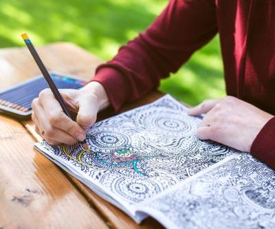 New study shows that adult colouring helps reduce symptoms of anxiety and depression