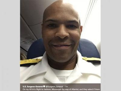 Patient on plane to Jackson 'doing well' thanks to surgeon general