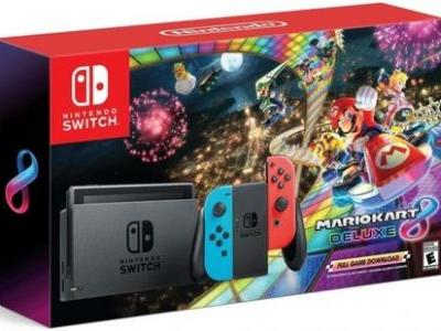 Mario Kart 8 Deluxe Switch bundle sells out in North America