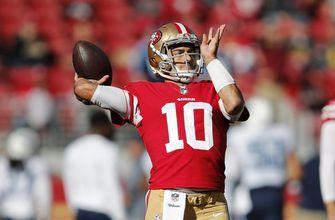 Jimmy Garoppolo leads 49ers past contending Titans at end