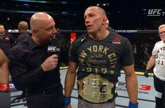 St. Pierre wins UFC title fight to cap night of new champs