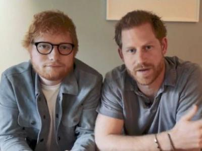 World Mental Health Day: Prince Harry and Ed Sheeran unite to share important message. Watch video