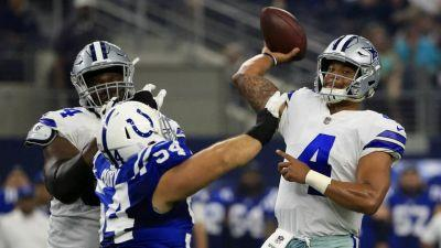 Prescott, Bryant connect quickly as Cowboys top Colts