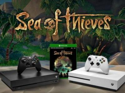Xbox One X purchases come with free Sea of Thieves digital code for a Limited Time