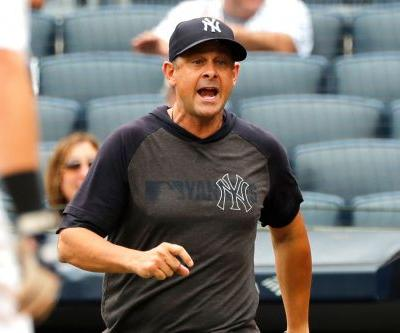 Aaron Boone gets one-game suspension for 'f-king savages' rant