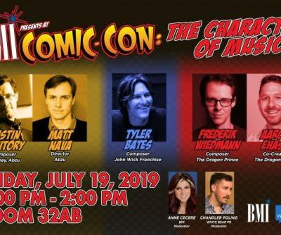 Events: BMI Comic-Con: San Diego, CA