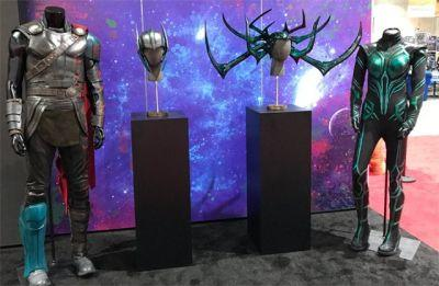Thor: Ragnarok Costumes Go on Display at Comic-Con