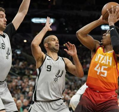 The Triple Team: Jazz fall to Spurs in OT after Mitchell-led regulation comeback