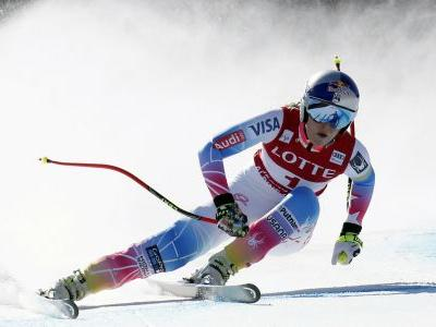 Winter Olympics 2018: High winds delay Lindsey Vonn's Olympic return in the super-G