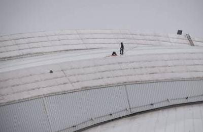 Blue Jays game postponed due to ice-damaged dome