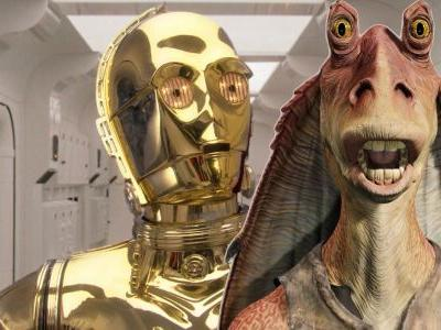 Star Wars: Anthony Daniels Wasn't A Fan of Jar Jar Binks