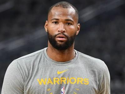 WATCH: DeMarcus Cousins throws down thunderous dunk to open Warriors career
