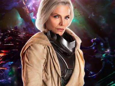 Ant-Man & The Wasp Concept Art Reveals Early Design for Janet Van Dyne