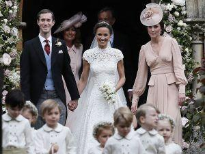 Kate Middleton Wears Alexander McQueen To Pippa's Wedding