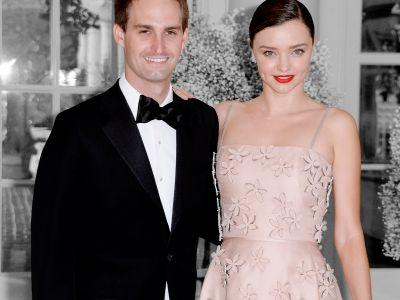 Miranda Kerr & Evan Spiegel Reportedly Tied The Knot