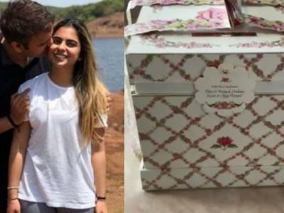 Isha Ambani and Anand Piramal wedding invite is as royal as it gets. See unboxing video