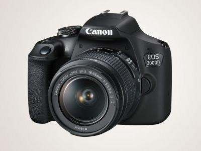 Canon EOS 2000D entry-level DSLR is cheaper than ever today
