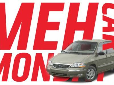 Meh Car Monday: The Ford Windstar Proves Meh-ness Is Like Entropy