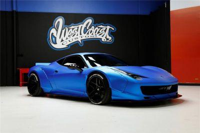 Justin Bieber's Custom-Built Ferrari 458 Is up for Auction