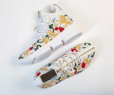 """Here's a Better Look at the Nike LeBron 15 Zip """"Floral"""""""