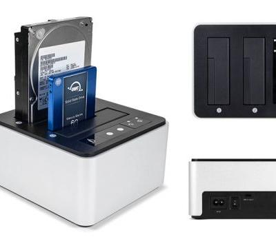 New OWC Dual Drive Dock with USB-C 10Gbps