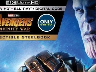 Infinity War Blu-ray Steelbook Already Available for Preorder