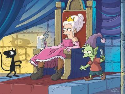 Disenchantment Returning to Netflix in September
