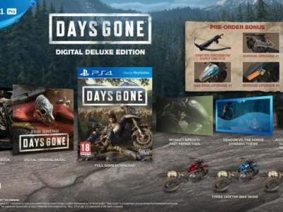 EU Version of The Days Gone Digital Deluxe Edition Seems to Have Listed Extra Content in Error