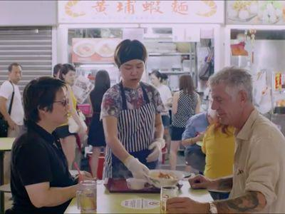 Bourdain Promises 'Unapologetic Food Porn' for 'Parts Unknown' Singapore