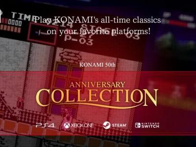 Konami announces the Anniversary Collection for all major platforms