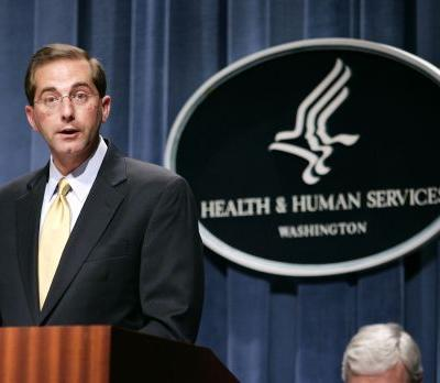 White House nominates Alex Azar as new Health and Human Services secretary