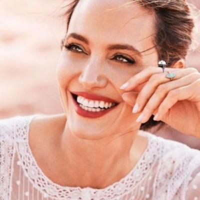 Angelina Jolie Writes a Letter to You From NamibiaAs Harper's