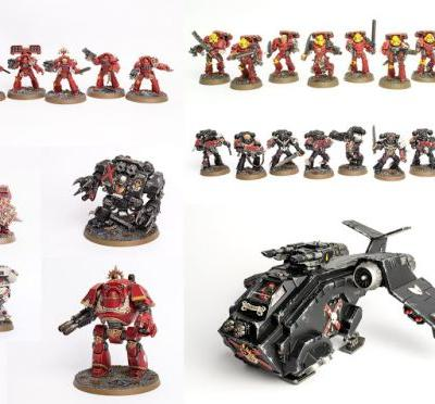 For Sale: Stahly's Blood Angels Army