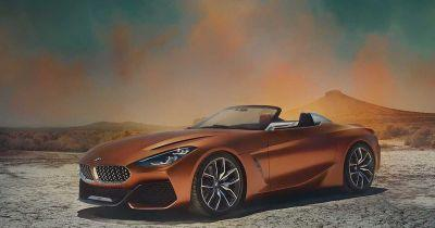 Leaked Pics Show Stunning New BMW Z4 Concept From All Angles