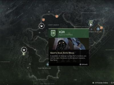 Destiny 2: Xur location and inventory, May 25-28