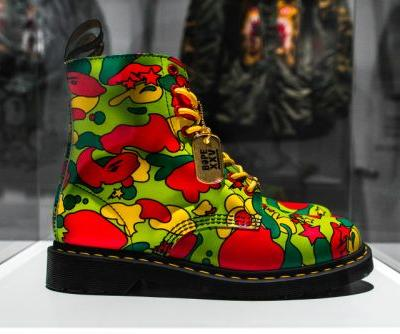 BAPE Unveils New Collaboration With Dr. Martens