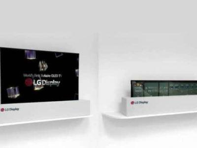 World's First Rollable TV Coming Soon To Prepare Us For A Rollable Smartphone