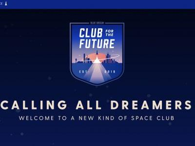 "Blue Origin launches ""Club for the Future"" to inspire a new generation of space exploration"