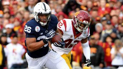 Saquon Barkley 79-yard touchdown gives Penn State first lead in Rose Bowl