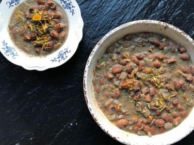 Beans with Walnuts and Spices
