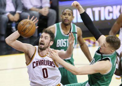 Kyrie Irving's career night has Cavaliers on Finals doorstep with 112-99 win in Game 4 over Celtics