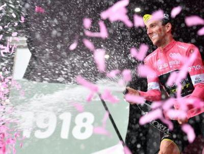 Viviani wins 13th stage for 3rd win, Yates keeps Giro lead