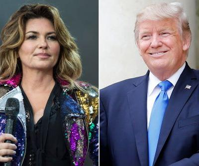 Shania Twain apologizes for saying she would have voted for Trump