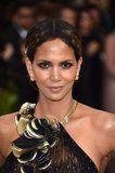 Halle Berry's Met Gala Hairstyle Looks Like a Standard Updo - Until You See It From the Back