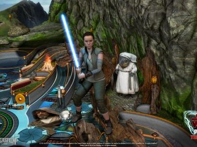 The Last Jedi gets some tables in Pinball FX3