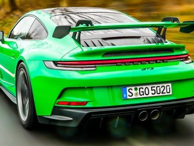 Watch The New Porsche 911 GT3 Sprint To 200 km/h