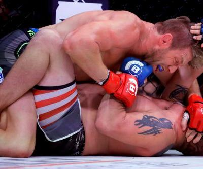 Former WWE star Jack Swagger wins his MMA debut