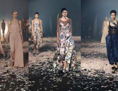 Dior leads Paris fashion on a dance as Gucci goes for gags