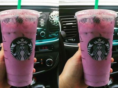 Here's How To Order Starbucks' Purple Drink From The Secret Menu