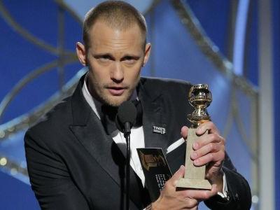 Alexander Skarsgård Won a Golden Globe for Playing an Abuser - So, Why Didn't He Mention Time's Up in His Speech?